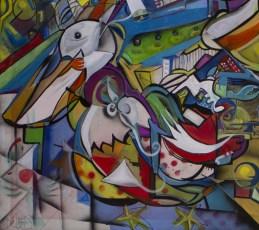 Acadiana Tapestry-detail