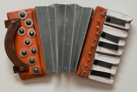 orange accordion